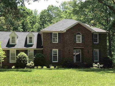Spartanburg Single Family Home For Sale: 809 Laurel Bluff