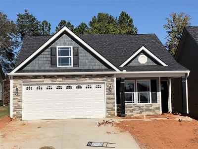 Inman Single Family Home For Sale: 526 Ridgeville Crossing Lot 30