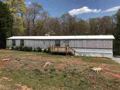 Inman Mobile Home For Sale: 333 Alverson Road