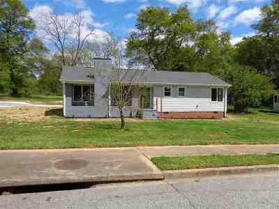Spartanburg Single Family Home Contingent On Inspection: 518 Wildwood Drive