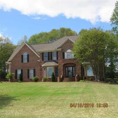 Spartanburg Single Family Home For Sale: S 408 Oakley Lane