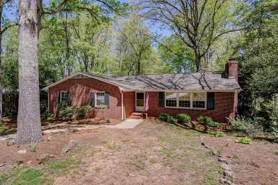 Greenville Single Family Home For Sale: 204 McSwain Drive