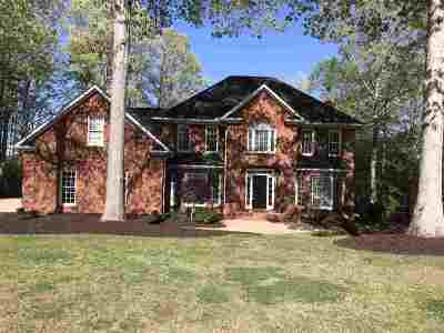 Spartanburg Single Family Home Cont On House Sale: S 453 Oakley Lane