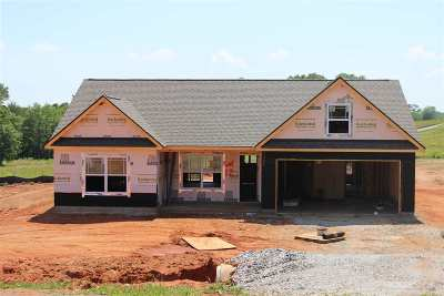 Inman Single Family Home For Sale: 3121 Rainbow Lake Road Lot 12
