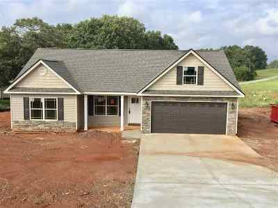 Inman Single Family Home For Sale: 3101 Rainbow Lake Road Lot 14