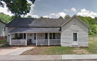 Woodruff Single Family Home For Sale: 553 Buncombe Street