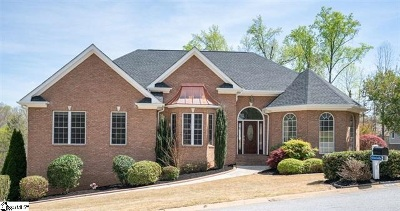 Greer Single Family Home For Sale: 1018 Bent Creek Run Drive