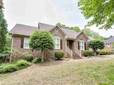Spartanburg Single Family Home For Sale: W 172 Woodglen Road