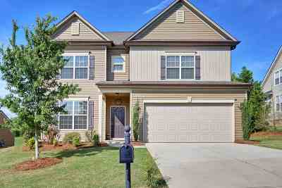 Greer Single Family Home For Sale: 315 Park Ridge Circle