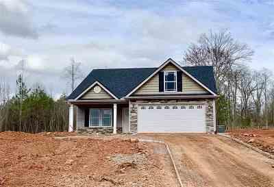 Inman Single Family Home For Sale: 191 Sunward Path Lot 27