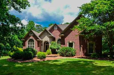 Spartanburg Single Family Home Contingent On Inspection: 807 Inverness Circle