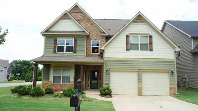 Spartanburg Single Family Home Cont On House Sale: N 233 Radcliff Way