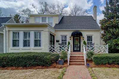 Spartanburg Single Family Home Contingent On Inspection: 360 Mills Ave