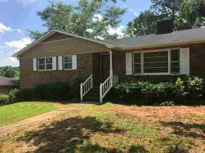 Spartanburg Single Family Home For Sale: 154 Stribling Circle
