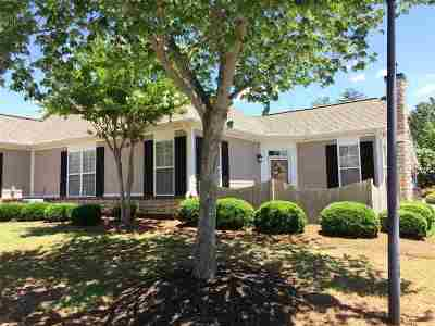 Spartanburg Condo/Townhouse For Sale: 125 Ravines Lane