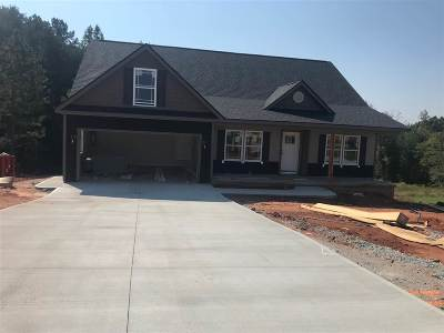 Wellford Single Family Home For Sale: 618 Uncle Joes Way Lot 15
