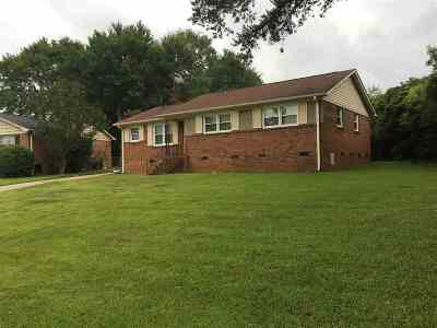 Spartanburg Single Family Home Contingent Upon Financing: 202 Saint Matthew Lane