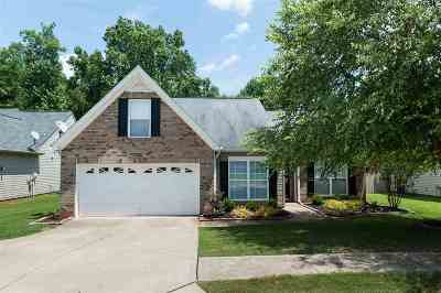 Spartanburg Single Family Home For Sale: 560 Cromwell Drive