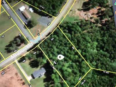 Spartanburg Residential Lots & Land For Sale: Mount Zion Road
