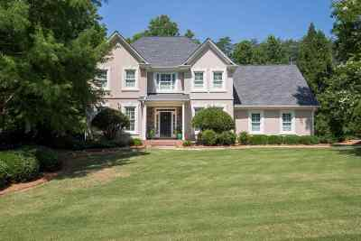 Spartanburg Single Family Home For Sale: 501 Bent Creek Lane
