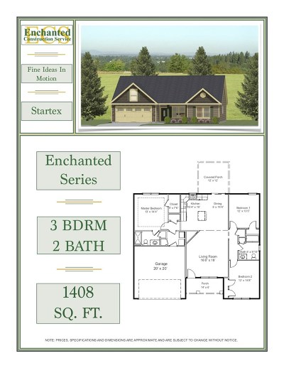 Campobello Single Family Home For Sale: 359 Mill Gin Road Lot 6