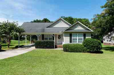 Inman Single Family Home For Sale: 1405 Bishop Rd.