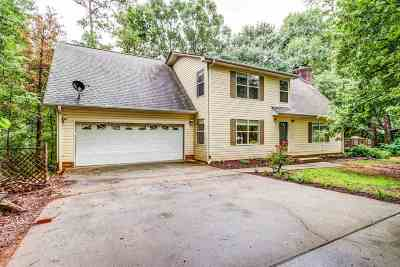 Greenville Single Family Home For Sale: 236 Shannon Lake Circle