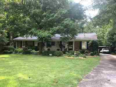 Spartanburg Single Family Home For Sale: 222 Holly Drive