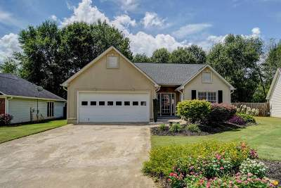 Spartanburg Single Family Home Contingent On Inspection: 117 Riverrun Drive