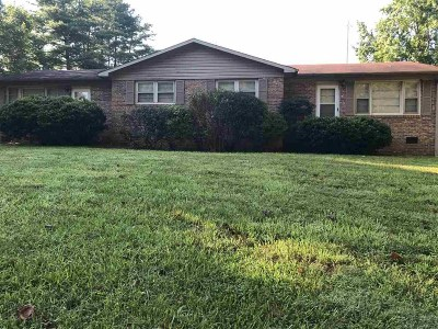 Spartanburg Single Family Home For Sale: 121 123 Pisgah Dr.