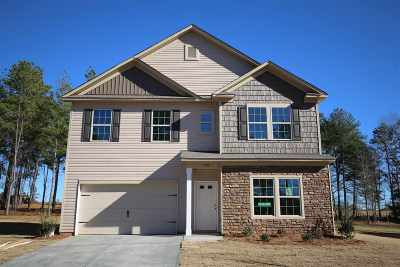 Inman Single Family Home For Sale: 528 Bella Woods Trail- Lot 7