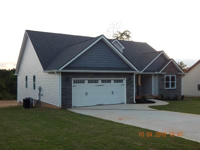 Inman Single Family Home For Sale: 161 Cothran Road, Lot# 3