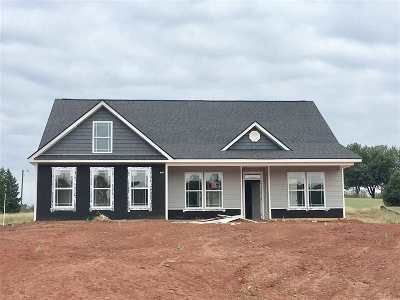 Inman Single Family Home For Sale: 555 Weatherly Rd Lot 3