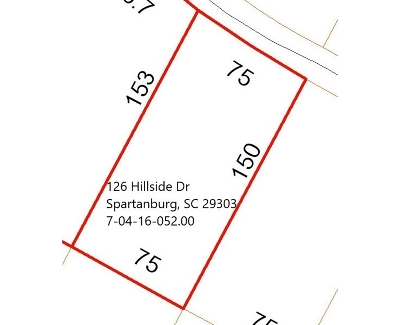 Spartanburg Residential Lots & Land For Sale: 126 Hillside Drive