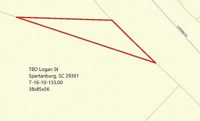 Spartanburg Residential Lots & Land For Sale: Logan St