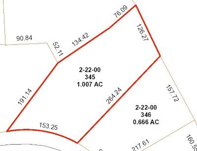 Inman Residential Lots & Land For Sale: N 450 Tidewater Trl