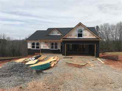 Wellford Single Family Home For Sale: 614 Uncle Joes Way - Lot 14