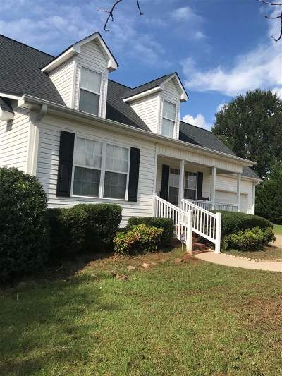 Woodruff Single Family Home For Sale: 407 Free Stone Ave