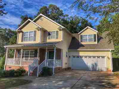 Inman Single Family Home For Sale: 153 Fagans Creek Drive