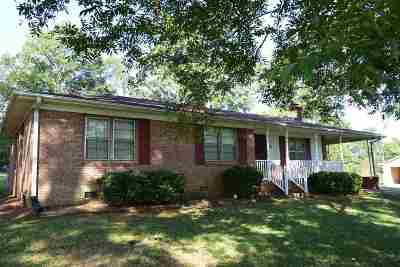 Inman Single Family Home For Sale: 107 Cypress Drive