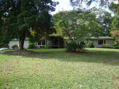 Spartanburg Single Family Home For Sale: 1004 Seven Springs Road