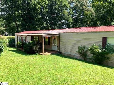 Easley Mobile Home For Sale: 720 Turner Hill Road