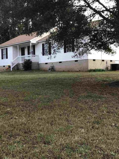 Duncan Single Family Home For Sale: S 405 Lakeview Drive