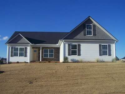 Greer Single Family Home For Sale: 153 Deyoung Meadows Drive