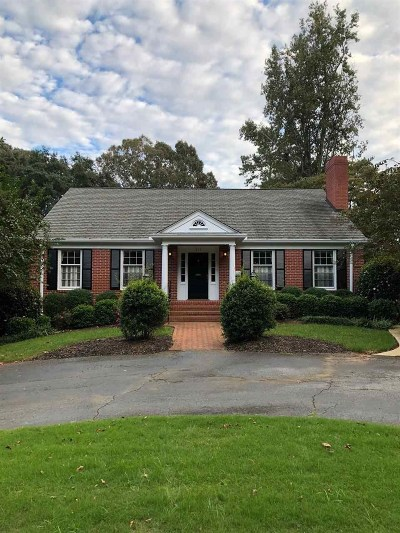 Spartanburg Single Family Home For Sale: 717 Springdale Drive