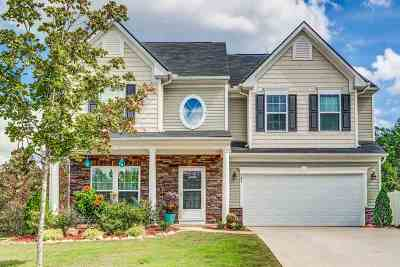 Simpsonville Single Family Home For Sale: 268 Chapel Hill