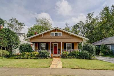 Spartanburg Single Family Home For Sale: 595 Woodland St