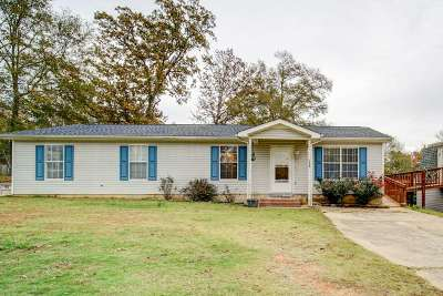 Woodruff Single Family Home For Sale: 253 Parsons Rd