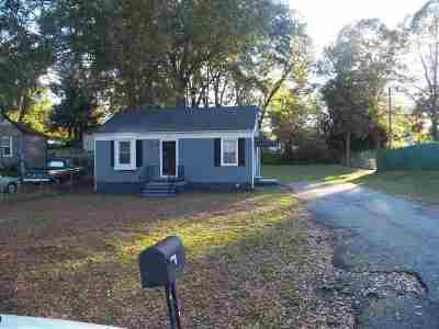 Spartanburg Single Family Home For Sale: 588 Houston St