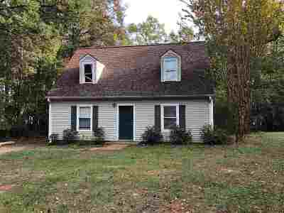 Spartanburg Single Family Home For Sale: 6345 Greenfield Drive